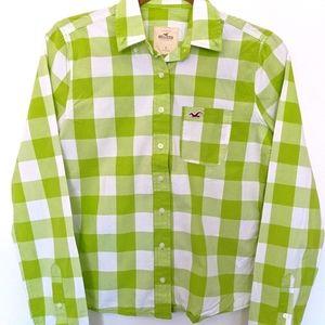 Hollister Checkered Button down shirt